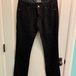 NWOT Paige premium blue heights black jeans 28